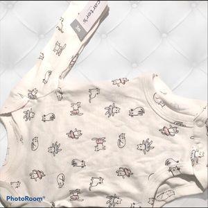 A baby's Animal Print Bodysuit